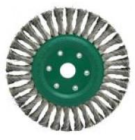 Щетка дисковая по нержавеющей стали 115/22,2 (Klingspor)
