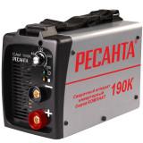 Сварочный инвертор для ручной дуговой сварки  «РЕСАНТА» САИ 190К (компактный)