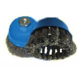 Щетка для УШМ чашечная плетёная 65 х М14 мм RinG