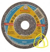 Круг отрезной A 24 N Supra 125х2,5х22.23 (Klingspor)