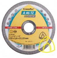 Круг отрезной A 46 TZ Special 125х1,6х22.23 (Klingspor)