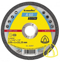Круг отрезной A 60 EXTRA по металлу 115х1,0х22.23 (Klingspor)