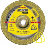 Круг зачистной A 24 EXTRA по металлу 180х6х22.23 (Klingspor)
