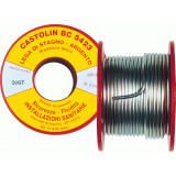 Припой для мягкой пайки Castolin BC 5423  на катушке д.2,0 мм по 100 гр.