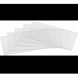 Пластина защитная поликарбонат (104х55х1 мм)